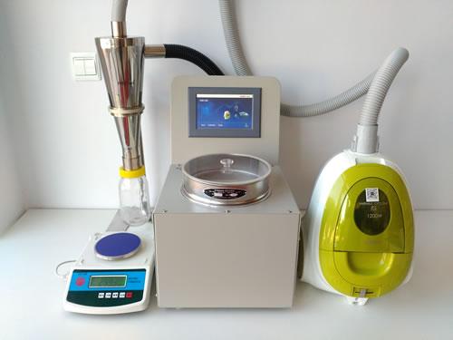 510-43. 200LS-N空气喷射筛气流筛分仪